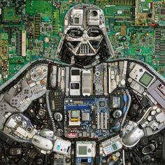 Darth-Vader-Mosaic