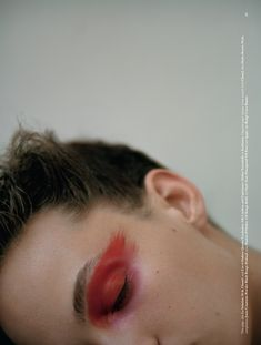 "thebeautymodel: "" ""Rose Quartz"" Adrienne Juliger by Letty Schmiterlow for Dazed Magazine Fall Stylist: Emma Wyman Makeup: Thomas de Kluyver "" Makeup Inspo, Makeup Art, Makeup Inspiration, Makeup Tips, Beauty Makeup, Eye Makeup, Hair Makeup, Hair Beauty, Brows"