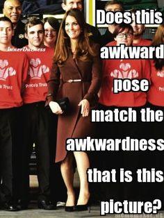 Just so awkward...