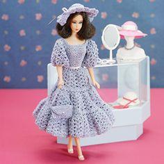 Crochet fashion doll dress pattern crochet fashion doll patterns - LeisureArts  $2.99