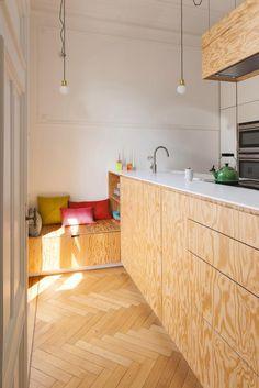 plywood kitchen google search kitchen pinterest k che diy k che und sperrholz. Black Bedroom Furniture Sets. Home Design Ideas