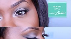 HOW TO EASILY APPLY FALSE LASHES + 8 PAIRS GIVEAWAY COMPETITION! Applying False Lashes, Makeup Tutorials Youtube, Giveaway, Competition, How To Apply, Pairs, Applying False Eyelashes, Applying Fake Eyelashes