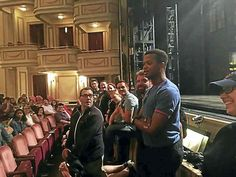 New Haven student group connects with 'Kinky Boots' cast