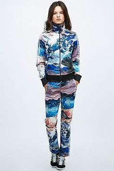 Adidas Mountain Clash Tracksuit Top  - Urban Outfitters #top #adidas #women #covet.me