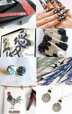 Japan chic. Check @Etsy treasury One fine day ~ Etsy Japan Team ~ by Natsumi
