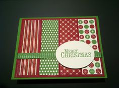 Mai Paper Creations With Stampin' Up!: Be of Good Cheer Christmas Card