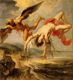The Fall Of Icarus - Peter Paul Rubens