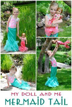 Little Mermaid Inspired Mermaid Tail Tutorial