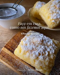Cheesecakes, Champagne Brunch, Bread Cake, Portuguese Recipes, Sweet Cakes, Something Sweet, Desert Recipes, Bread Baking, Sweet Bread