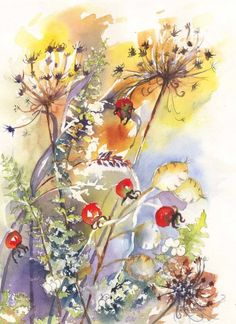 Beth Roberson   WATERCOLOR