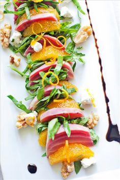 Heirloom Beet and Orange Salad