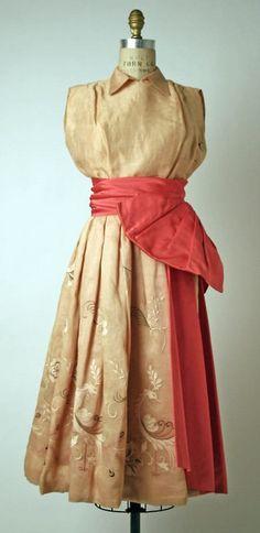 Christian Dior dress ca. 1949
