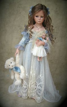 Doll, little girl