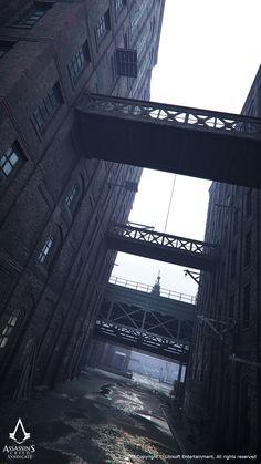 ArtStation - Assassins Creed Syndicate. Architecture Art Dump, Jonas Axelsson
