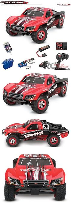Cars Trucks and Motorcycles 182183: Traxxas 70054-1 1 16 Slash 4Wd Rtr Red Short Cource Racing Truck Batt Charger -> BUY IT NOW ONLY: $199.95 on eBay!