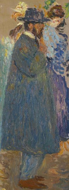ETUDE DU PENSEUR, Henri Martin (1860-1943), oil on canvas