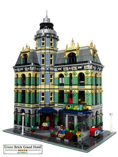 Hoasenda - Welcome my page Casa Lego, Lego Pictures, Brick Garden, Lego Modular, Lego Room, Cool Lego Creations, Lego Architecture, Lego Projects, Lego Building