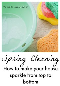 Do you want to tackle spring cleaning but aren't sure how?  Here are some great tips to help your home sparkle and to get rid of that winter gloom.   www.weliketolearnaswego.com