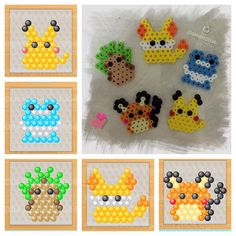 Pokemon perler beads by ganmo2004