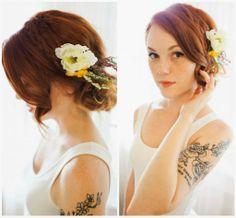 kate&stripes: Romantic Date Night Hair DIY