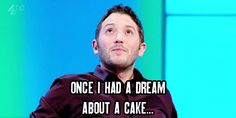 And when he dared to dream. 21 Times Jon Richardson Was The Cutest Man In Britain British Humor, British Comedy, Uk Comedians, Jon Richardson, 8 Out Of 10 Cats, Comedian Quotes, Comedy Actors, I Have A Dream, Stand Up Comedy
