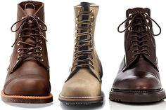 The Three Tiers of Welted Boots and Shoes: Entry, Mid, and End Level
