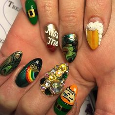 Best St. Patrick's Day Nail Art From Instagram | POPSUGAR Beauty