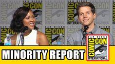 Minority Report Comic Con Panel - Meagan Good, Stark Sands