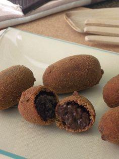 recetas de tía Alia: Croquetas de chocolate