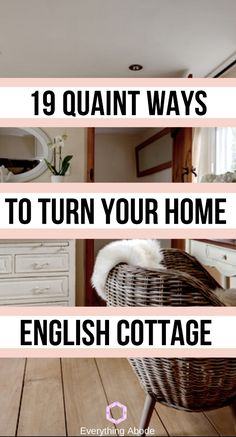 Best ways to redecorate english cottage style! English Cottage Interiors, English Cottage Style, English Country Cottages, English Country Decor, English Cottage Decorating, English Cottage Bedrooms, English Cottage Kitchens, French Cottage Decor, French Country Interiors