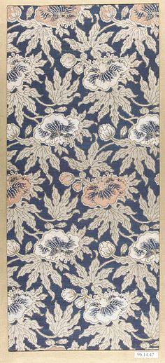 Piece  Period: Edo period (1615–1868) Date: 18th century Culture: Japan Medium: Silk Dimensions: 16 1/4 x 7 1/4 in. (41.27 x 18.41 cm)