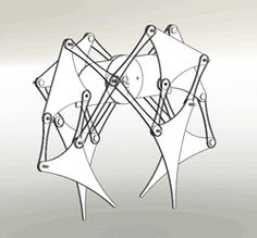 "gifdistrict: "" Strandbeest mechanism """