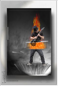 Der brennende Zupfer http://fc-foto.de/37377615