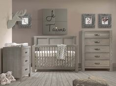 Embrace the farmhouse trend in your child's nursery with the Rustico Collection. Including cribs, breds, dressers and nightstands. Italian design, made in Canada.