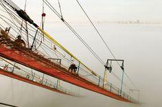 On a new Bay Bridge span... (Robin Scheswoh)