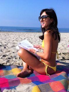 Bikini, the beach
