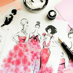 11 incredibly inspiring fashion illustrators to follow now on Instagram.
