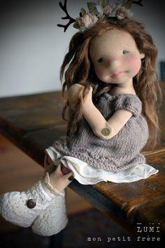 Родом из детства: теплые и душевные вальдорфские куклы от иностранных мастеров - Ярмарка Мастеров - ручная работа, handmade