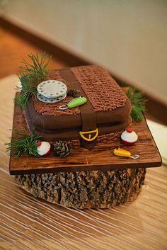 grooms cake fishing theme - Google Search