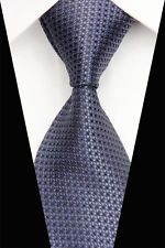 On sale for another 1m at $3.08 is this great GL0592 Black Gray  Stripe Man Classic JACQUARD Woven Necktie Tie Casual . Follow for more great mens fashion neck ties! #mensfashion.