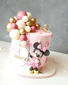 Baby Shower Hamper, Little Pony Cake, Minnie Cake, Bolo Fake, Cake Fondant, Amazing Cakes, First Birthdays, Projects To Try, Party Ideas