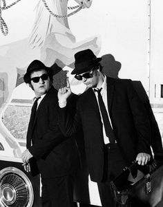 (♥) The Blues Brothers... Dan Aykroyd and John Belushi.