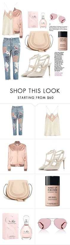 """""""Untitled #757"""" by coffeegirl233 ❤ liked on Polyvore featuring Boohoo, Zadig & Voltaire, Yves Saint Laurent, Chloé, MAKE UP FOR EVER, Van Cleef & Arpels and Oliver Peoples"""