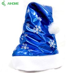 New Christmas Hats Decration For Home Lovers Creative Xmas Gifts Bright Cloth Christmas Hats Fashion Snow Star Pattern #clothing,#shoes,#jewelry,#women,#men,#hats,#watches,#belts,#fashion,#style
