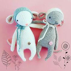 Anleitung Mimimaus Pattern Amigurumi Crochet