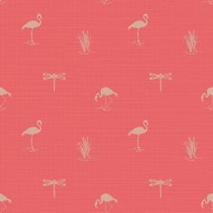 Lakeside  Coral wallpaper by Arthouse