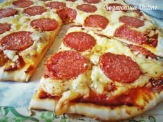 Пицца на тонком хрустящем тесте. Проще некуда!   Хозяин и Хозяюшка