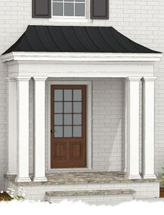 front porch photos and portico before and after photos