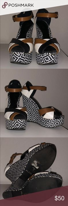Aldo Wedges WORN ONCE ONLY, No box Aldo Shoes Wedges