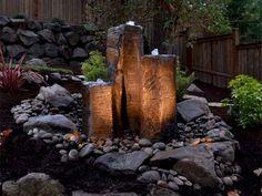Stunning and creative diy inspirations for backyard garden fountains (45)